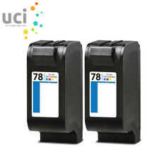 2 Colour Compatible Ink For 78 FAX 1220 1230 PSC 750 950 Olivetti JobJet P200