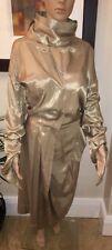 Vivienne Westwood ~ Gold Label ~ Truly Unique Gold Witches Coat Dress UK10