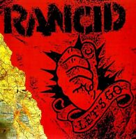 RANCID let's go (CD album) VG/EX 6434-2 punk