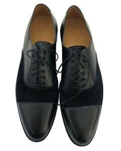 Paul Smith Men Shoes Black Leather  Suede FORMAL Shoe