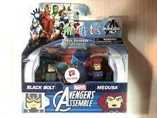 Marvel Avengers Assemble Black Bolt Medusa MiniMates Figure Pack Walgreens