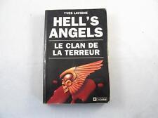 1988 HELLS ANGELS LE CLAN DE LA TERREUR FRENCH BOOK BY YVES LAVIGNE