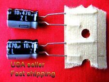 4 pcs  -  470uf 10v   LOW ESR   electrolytic capacitors  FREE SHIPING