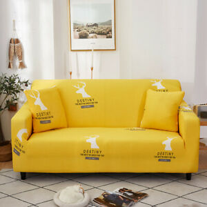 Furniture Protector for Loveseat Floral Stretch 1 2 3 4 Cushion Couch Sofa Cover