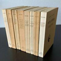 MOLIERE - OEUVRES COMPLETES 1946 LES BELLES LETTRES (8 VOL.)