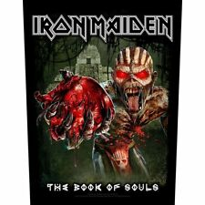 Iron Maiden Patch Eddie's Heart Backpatch