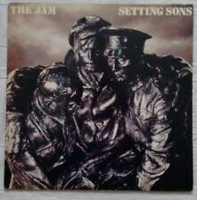 The Jam - Setting Sons - Polydor - POLD 5028 - UK 1979 Vinyl LP Embossed A2 / B3