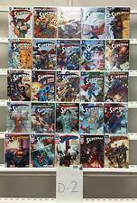 Superman Dc 25 Lot Comic Book Comics Set Run Collection Box4