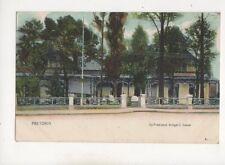 Pretoria Ex President Kruger House South Africa U/B Postcard 410b