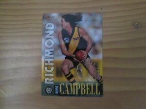 1996 AFL SELECT SERIES 1 PROMOTIONAL CARD WAYNE CAMPBELL RICHMOND