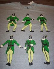 ELF DANCING WILL FARREL CHRISTMAS T-Shirt XL NEW w/ TAG