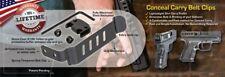TechnaClip IWB Concealable Gun Belt Clip for Glock 17/19/22/23/24/25/26/27/28