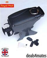 Black Armrest Arm Rest Console for PEUGEOT 106 206 306 406 308 207 307 407 NEW