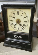 Early German Winterhalder and Hofmeier Cottage Clock W/ Alarm. Circa 1850-60