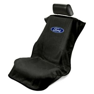 Seat Armour Universal Black Towel Front Seat Cover for Ford