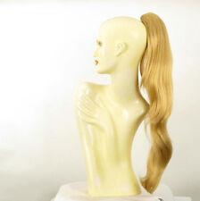 Haarteil Pferdeschwanz lange 70 cm hellblonde goldenen ref 5 LG26