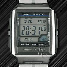 Moderne CASIO FUNKUHR, Alarm, Weltzeit, digital, WV-59DE, Funk,Illuminator