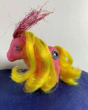 Vintage My Little Pony PRINCESS SUNBEAM Pink Yellow Hair G1 1987 MLP