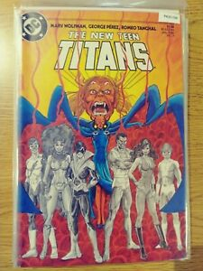 NEW TEEN TITANS 4 [GEORGE PEREZ COVER] VF/NM DC PA10-156
