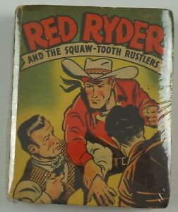 Better Little Book #1414 - Red Ryder and the Squaw-Tooth Rustlers 1946 Whitman