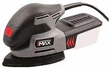 Pro Hilka IMAX 220w Electric Detail Palm Mouse Sheet Sander Sanding & 9 Sheets