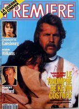 1991: KEVIN COSTNER_CHARLOTTE GAINSBOURG_ROBIN WILLIAMS_ROBERT REDFORD_LENA OLIN