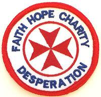 No 1435 Operations Faith Hope Charity Royal Air Force Parche Bordado