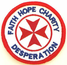 No 1435 Operations Faith Hope Charity Royal Air Force RAF Embroidered Patch