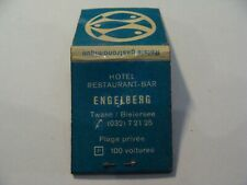 Pochette allumettes - Hôtel ENGELBERG - TWANN : BIELERSEE - SUISSE - (P15)