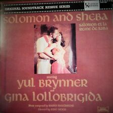 "SOLOMON & SHEBA (1985 MUSIC M NASCIMBENE) FRENCH MINT SOUNDTRACK 12"" VINYL LP"