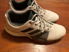 Adidas Tour 360 Boost Men's Golf  Shoes Lace Up White/Pink Size 13 US - 791001