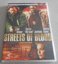 DVD - STREETS OF BLOOD avec SHARON STONE..VAL KILMER ..