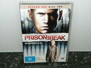 PRISON BREAK SEASON 1 - DISC 2 - EPISODES 5-8 - EXCELLENT DISC