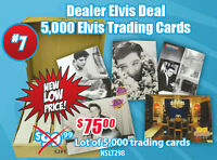 5000 Assorted Elvis Presley Trading Card Lot Elvis Trading Cards