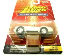 Johnny Lighting Sliver Shelby Cobra 427 1/64 Die-Cast Replicas Car 1999