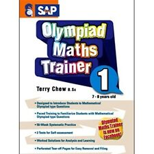 MATHS OLYMPIAD TRAINER Workbook Year 1, Numbers, Singapore series FREE Shipping