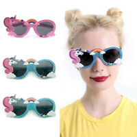 Creative Rainbow Unicorn Glasses Unisex Party Favor Kids Toys Photo Props