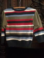 Gap Boys Size 7-8 Striped Crew Sweater