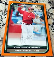 JOEY VOTTO 2008 Bowman ORANGE SP Rookie Card RC 229/250 Reds HOT 253 HRs .313 BA