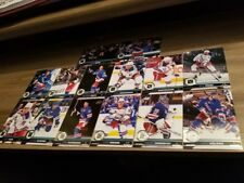 2017-18 UPPER DECK UD SERIES 1 & SERIES 2 NEW YORK RANGERS TEAM SET (14 CARDS)