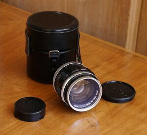CANON Lens FL FD 55mm f/1.2 Lens Excellent Condition w/Canon Filter Caps Case