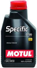 Motul Specific 0720 5W30 (DPF) 1Lt Olio Motore Renault RN0720 Acea C4 sintetico