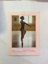 American Girl Doll Retired Marisol Luna Performance Trunk Ballet Poster ONLY