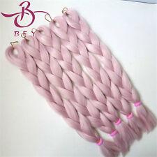 1 pc Top quality Yaki synthetic braid 24inch 60cm Kanekalon Jumbo Braid T2334