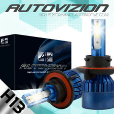 AUTOVIZION H13 9008 LED Headlight Bulbs Kit for Ford F150 High Low Beam 6500K
