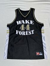 Nike Wake Forest Demon Deacons Ncaa Acc Basketball Jersey Size 52 Team Issue