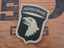 SNAKE PATCH -- 101 AIRBORNE - 101st AB - WW2 PARA - TAN SABLE DESERT US ARMY OPS