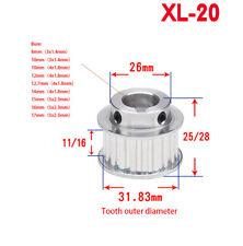 XL-20T Step Timing Pulley keyway Bore for Width 11mm/16mm Belt Reprap 3D Printer