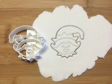 Christmas Elf Head Cookie Cutter Biscuit, Pastry, Fondant Cutter