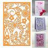 Butterfly Lace Cutting Die Stencil Embossing Scrapbook Background DIY Craft